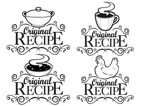 Original Recipe Seals  Illustration