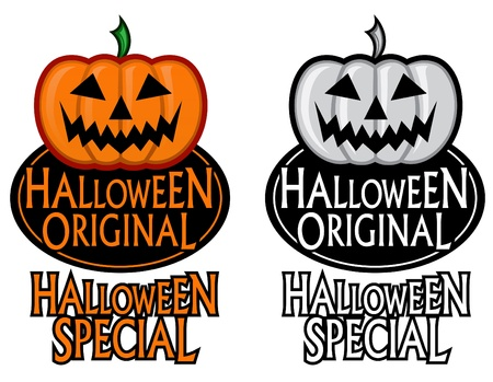 Halloween Original / Special Seal Stock Vector - 9674514
