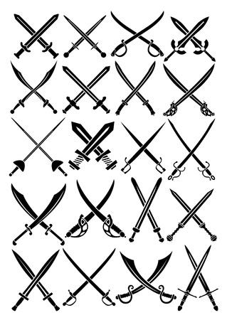 sabel: Gekruiste zwaarden