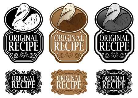 plumed: Original Recipe Turkey vertical versions