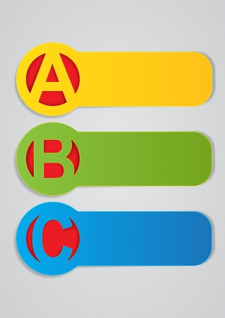 ABC Vector Labels Vector