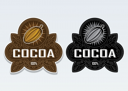 certify: Cocoa 100% Seal  Sticker