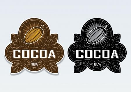 Cocoa 100% Seal  Sticker