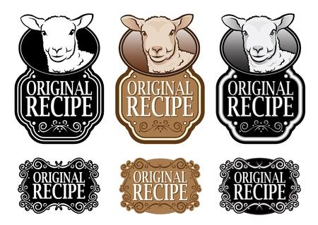 mouton noir: Version originale agneau Recette de joint vertical