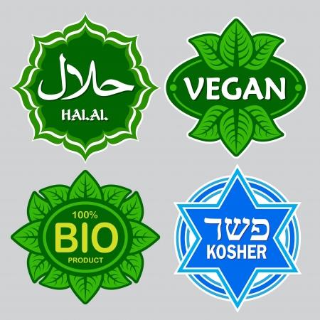 Alimentos Certificado Seals