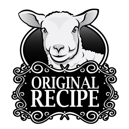 pecora: Originale Ricetta Agnello Royal Seal, Badge