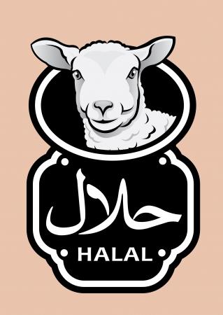 Lamb Halal Icon   Seal