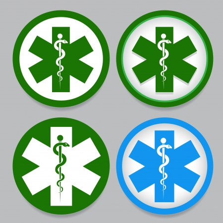well being: Emergency Symbol
