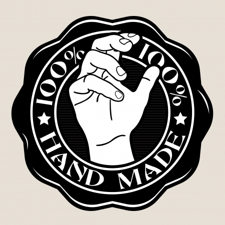 hand made: Hecho a mano 100% Seal