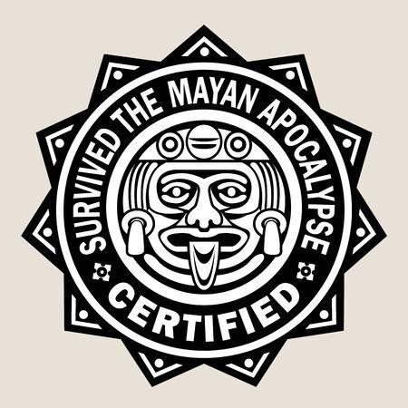 Overleefde de Maya Apocalyps  Certified Seal