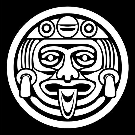Aztec gezichtsmasker