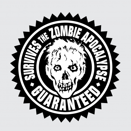 surviving: Survives the Zombie Apocalypse  Guaranteed  Illustration