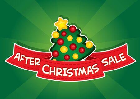 etiquete: After Christmas Sale Banner