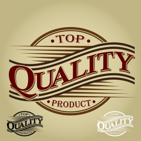 Top Quality Product - Vintage Seal Stock Vector - 17626988