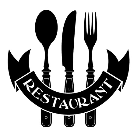 Knife, fork and spoon  Restaurant Seal