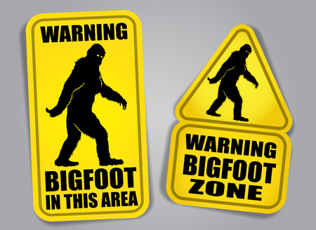 bigfoot: Se�ales de advertencia de Bigfoot