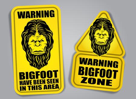 bigfoot: Bigfoot Warning Signs