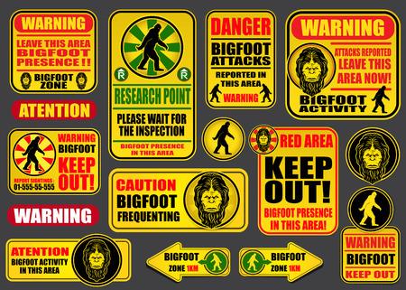 bigfoot: Bigfoot Signs Collection