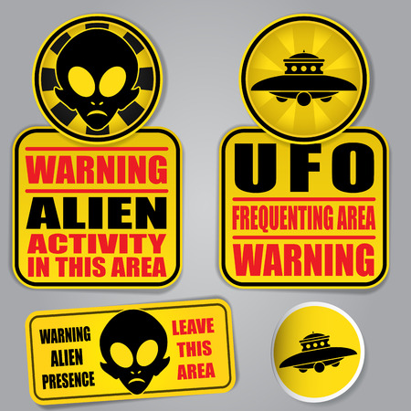 alien planet: Warning Alien UFO Signs