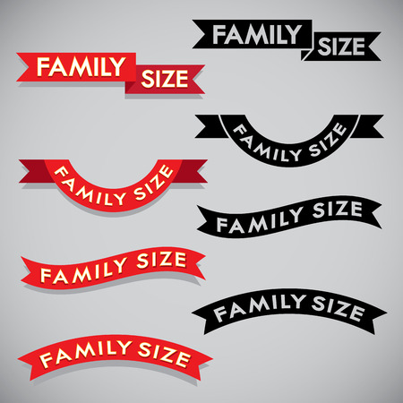 size: Family Size Ribbon September