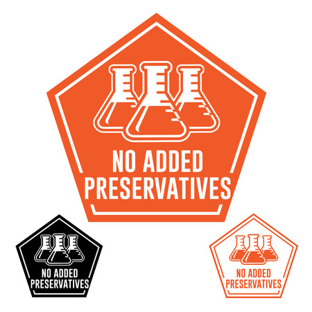 no label: No added Preservatives Icon