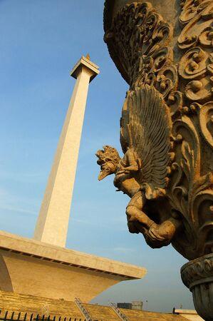freedom tower: Tugu Monumen Nasional (the National Monument tower), Jakarta, Indonesia