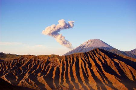 Semeru volcano photo