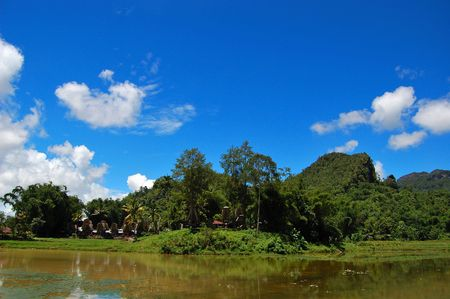 Traditional village of Kete Kesu, Toraja, South Sulawesi, Indonesia photo