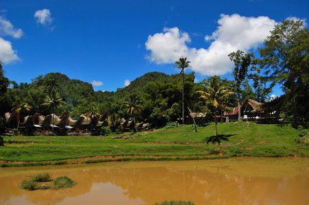 sulawesi: Traditional village of Kete Kesu, Toraja, South Sulawesi, Indonesia