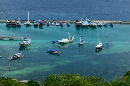 celebes: Tanjung Biras port