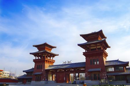 qin: The qin dynasty palace