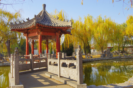 The qin dynasty palace