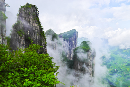 hubei province: The Grand Canyon Stock Photo