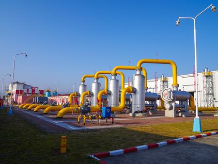 Oil gas pipeline