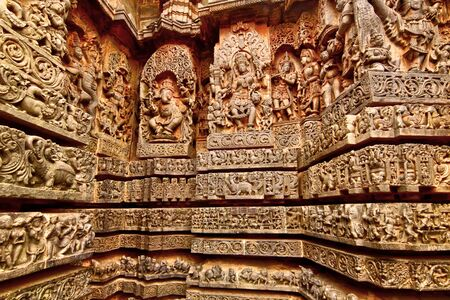 Poetry in Stone at the Hoysaleshwara Temple in Halebeedu.