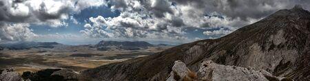 abruzzo:  Fonte vetica - Monte camicia  landscape - Abruzzo Italy
