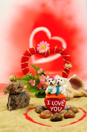 valentines, love, little bear 2 photo