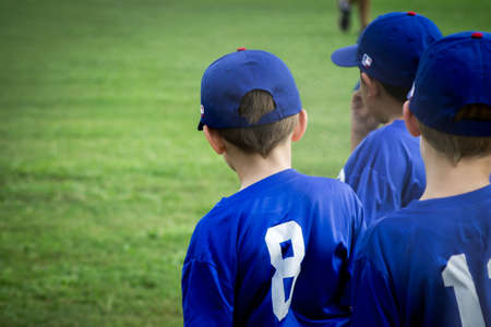 little league: stand out baseball player