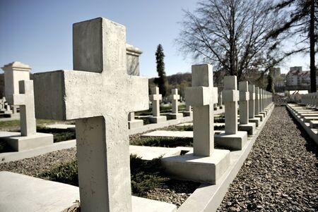 lvov: Poland graveyard in Lvov