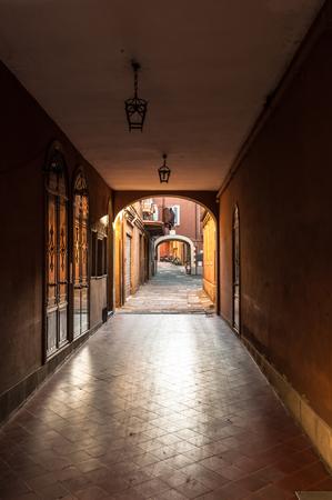 bologna: Bologna emilia romagna italy city europe street Editorial