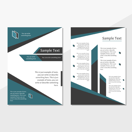 brochure cover template, can be used for annual report, advertisement, promotion, marketing