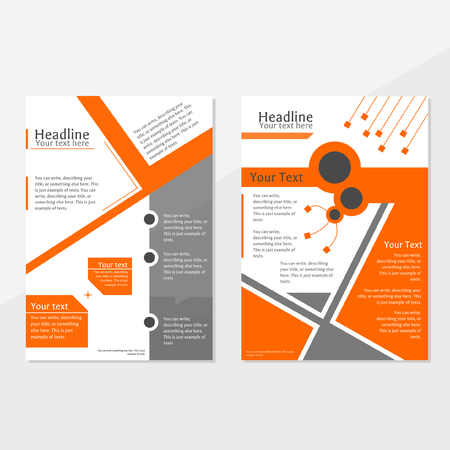 describe: brochure cover template, can be used for annual report, advertisement, promotion, marketing