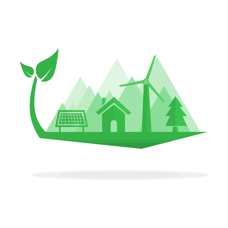 energy use: green environment that use clean energy