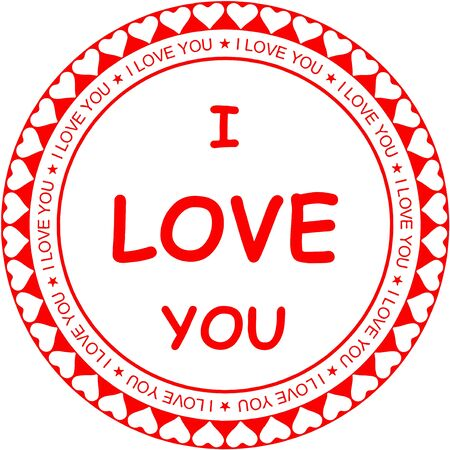 declaration of love: i love you