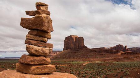 monument valley national park 免版税图像