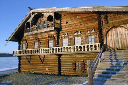 Ethnographic Museum-reserve Kizhi, Island Kizhi, Onega lake, Karelia Russia