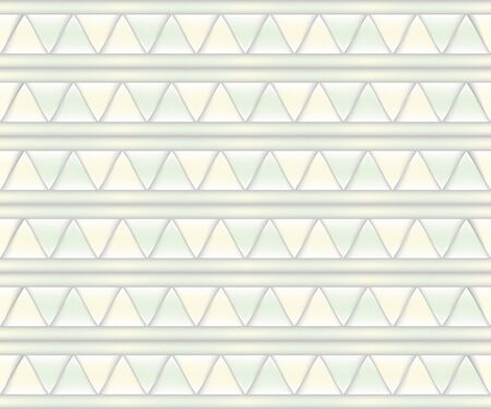 pale: Abstract background of pale yellow and pale green triangles. Stock Photo