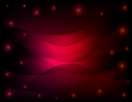 wawe: Vector abstract dark red background. Bright waves