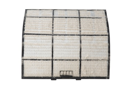 home air conditioner filter with many dust