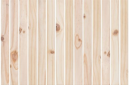 wood planks textures isolated on white  photo